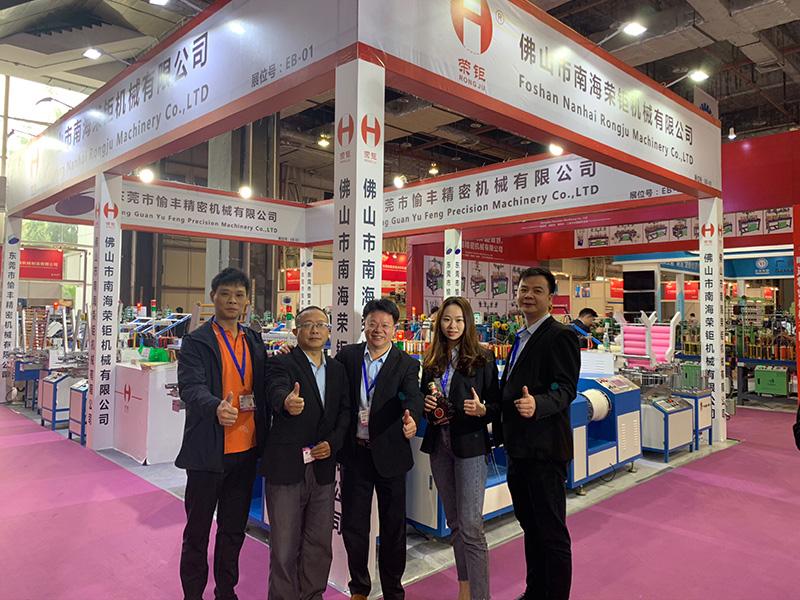 荣钜参加2019国际纺织制衣及鞋机鞋材飞织工业技术展